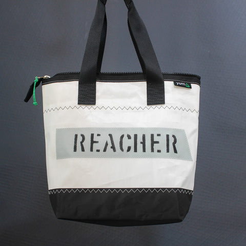 Reacher Zip Top Tote 504
