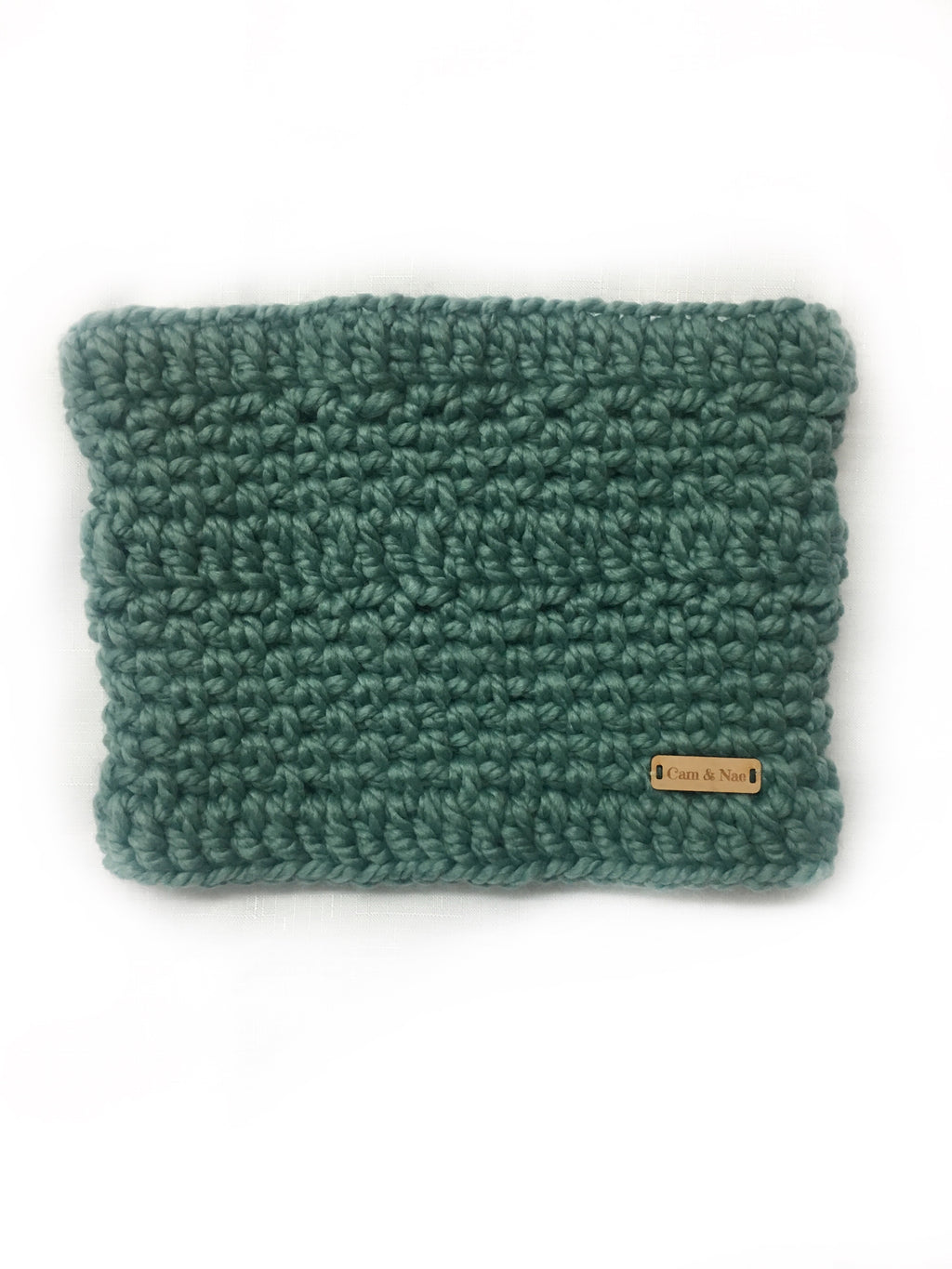 Chunky knit Cowl- Succulent
