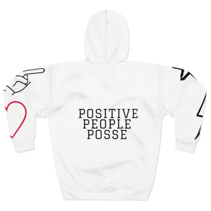 Peace, Love & Positive Energy Unisex Pullover Hoodie - +Positive People Posse+