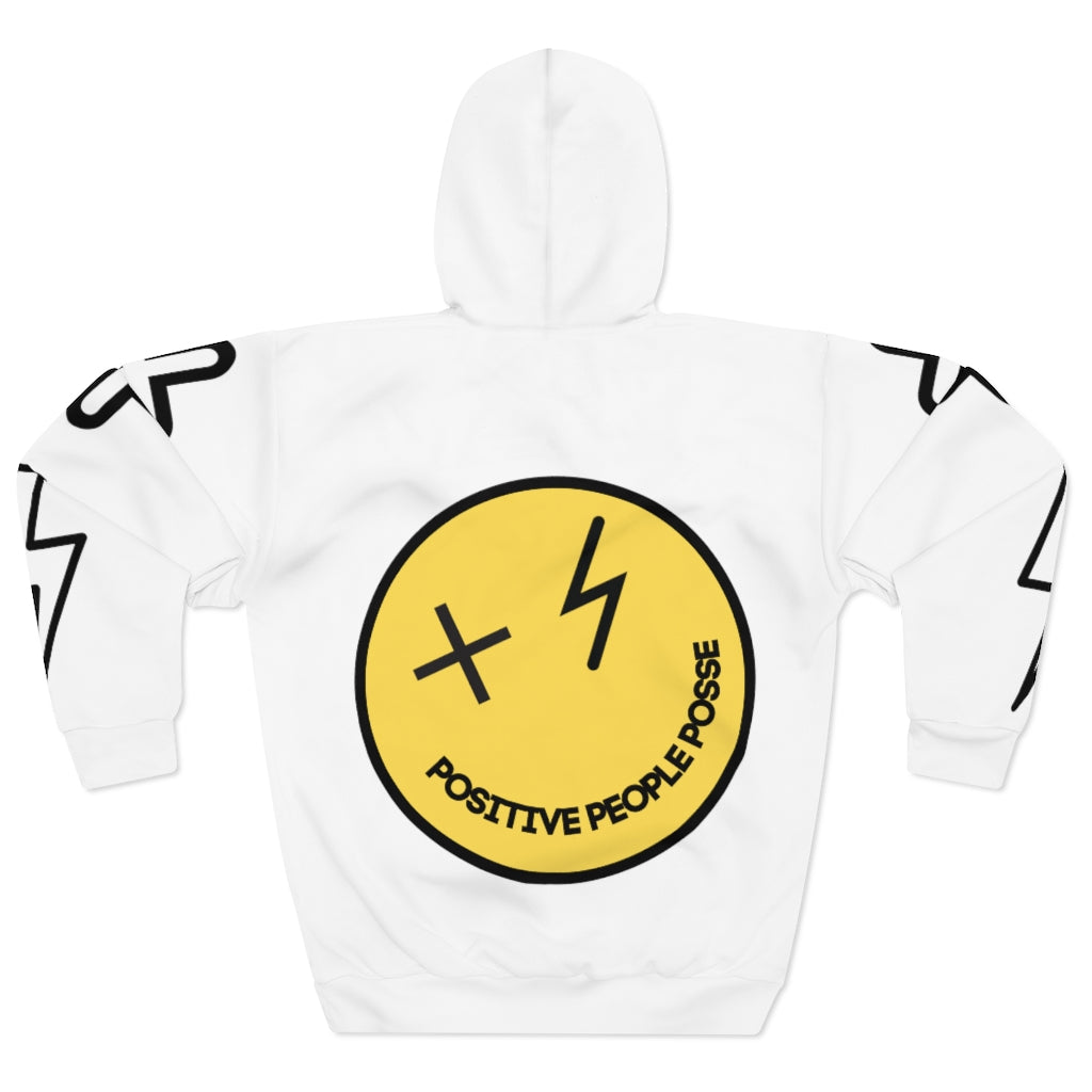 Smiley Face Unisex Pullover Hoodie - +Positive People Posse+