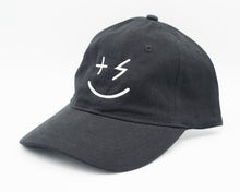 Load image into Gallery viewer, PPP Smiley Cap- Black