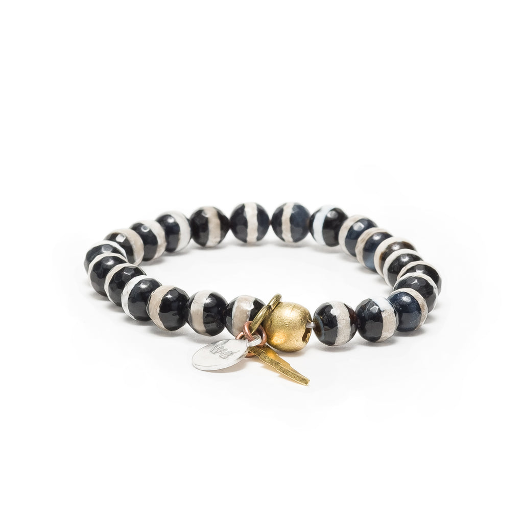 Whiskey & Bone/ Positive People Posse Energy Bracelet - +Positive People Posse+