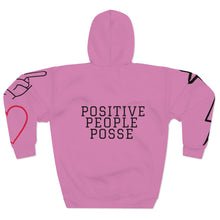 Load image into Gallery viewer, Rose Peace, Love & Positive Energy Unisex Pullover Hoodie