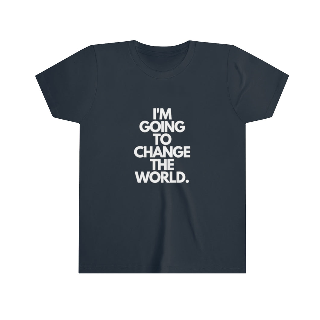 Change The World Youth Short Sleeve Tee
