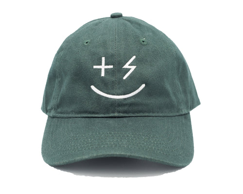 PPP Smiley Cap- Hunter Green