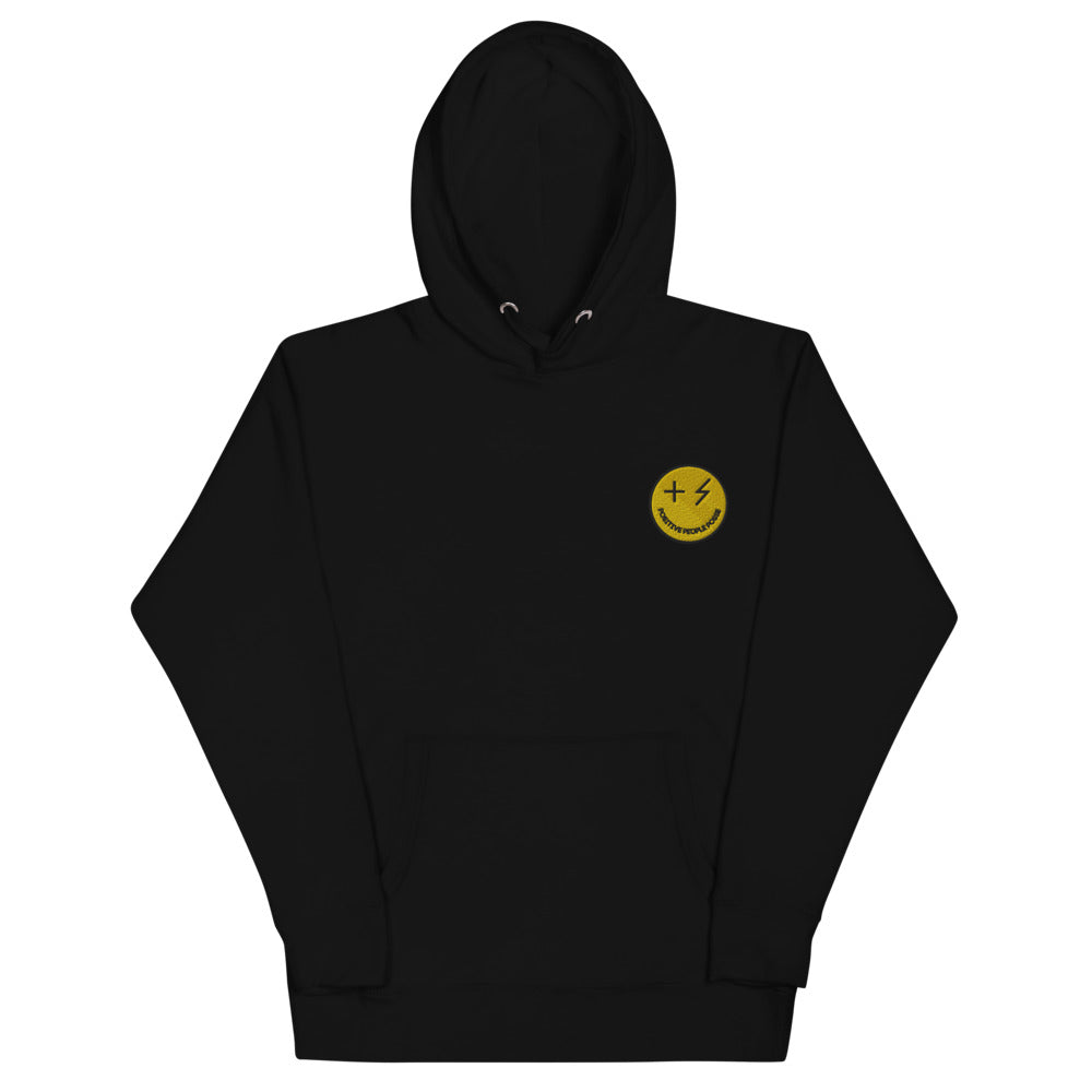 Yellow Smiley Unisex Hoodie - +Positive People Posse+