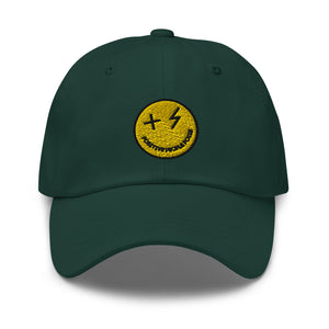Spruce Smiley Dad hat - +Positive People Posse+