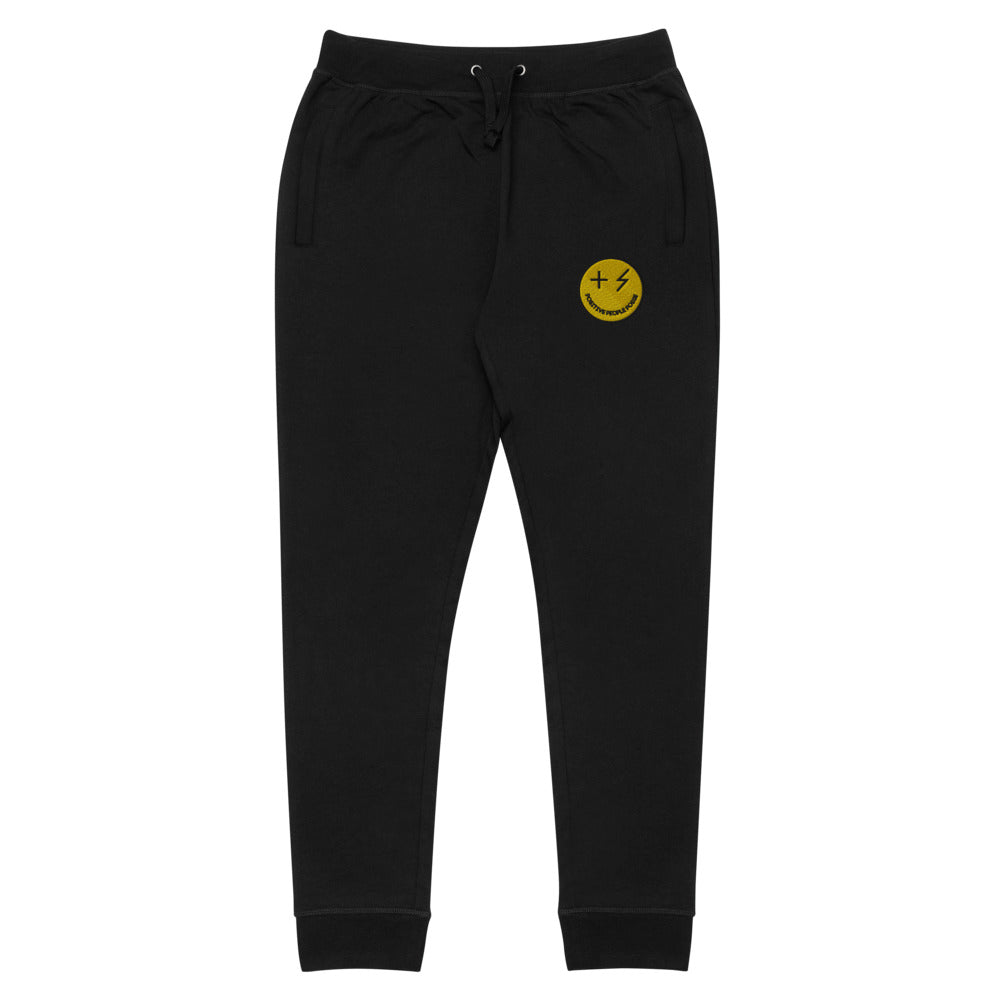 Smiley Unisex Skinny Joggers - +Positive People Posse+