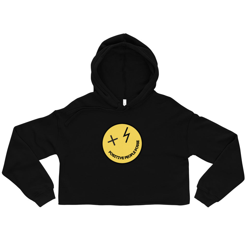 Women's Mr. Nice Guy Crop Hoodie - +Positive People Posse+