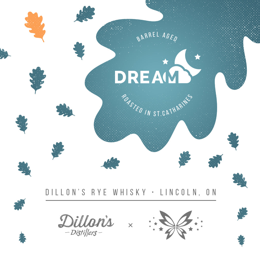Dillon's Rye Whisky Barrel-Aged Coffee