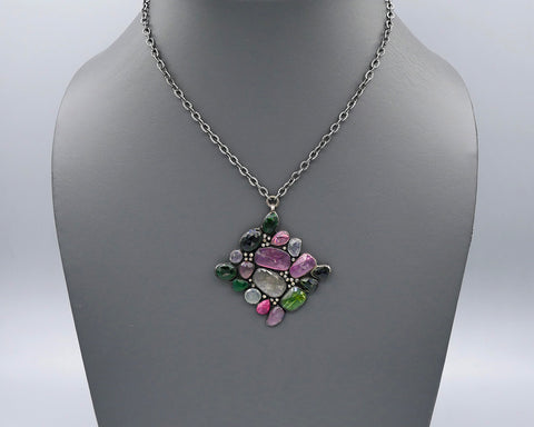 Princess Tourmaline Pendant