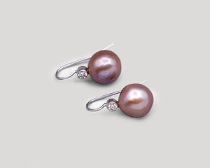 Pink South Sea Pearl Drops