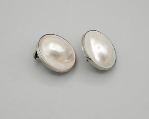 Blister Pearl Earrings