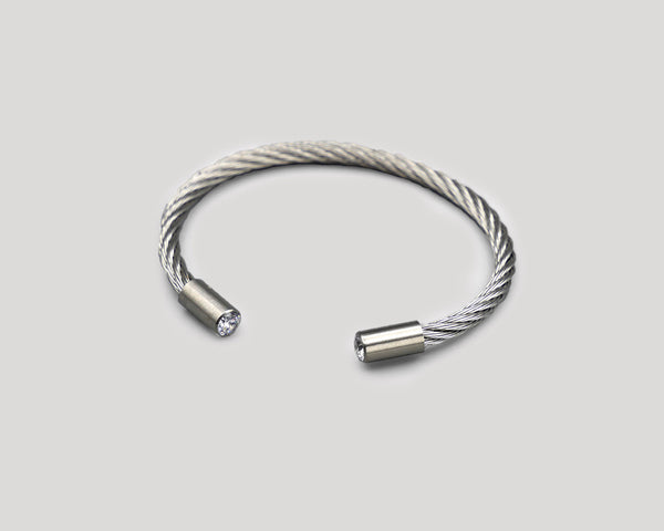 Stainless Steel Open Bangles