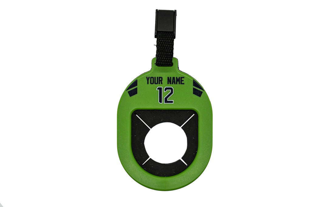 Personalized Football Towel Tag
