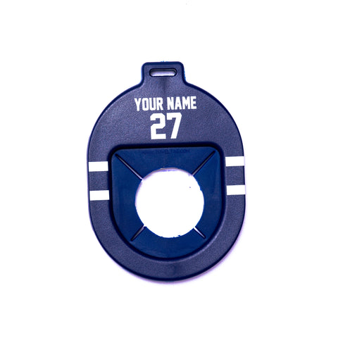 Personalized Hockey Towel Tag