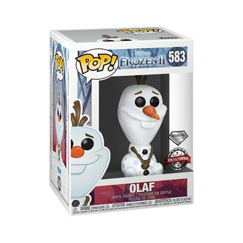Funko Pop Disney Frozen II Olaf Diamond Collection Exclusive Vinyl Figure