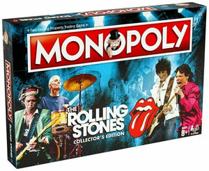 Monopoly The Rolling Stones Limited Edition Board Game