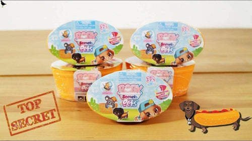 Baby Secrets Pets Mini-Figure Mystery Baskets X 5