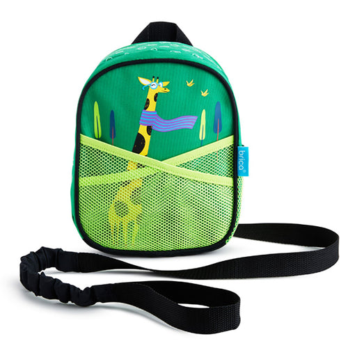 Munchkin By-My-Side Safety Harness And Backpack - Giraffe By Brica