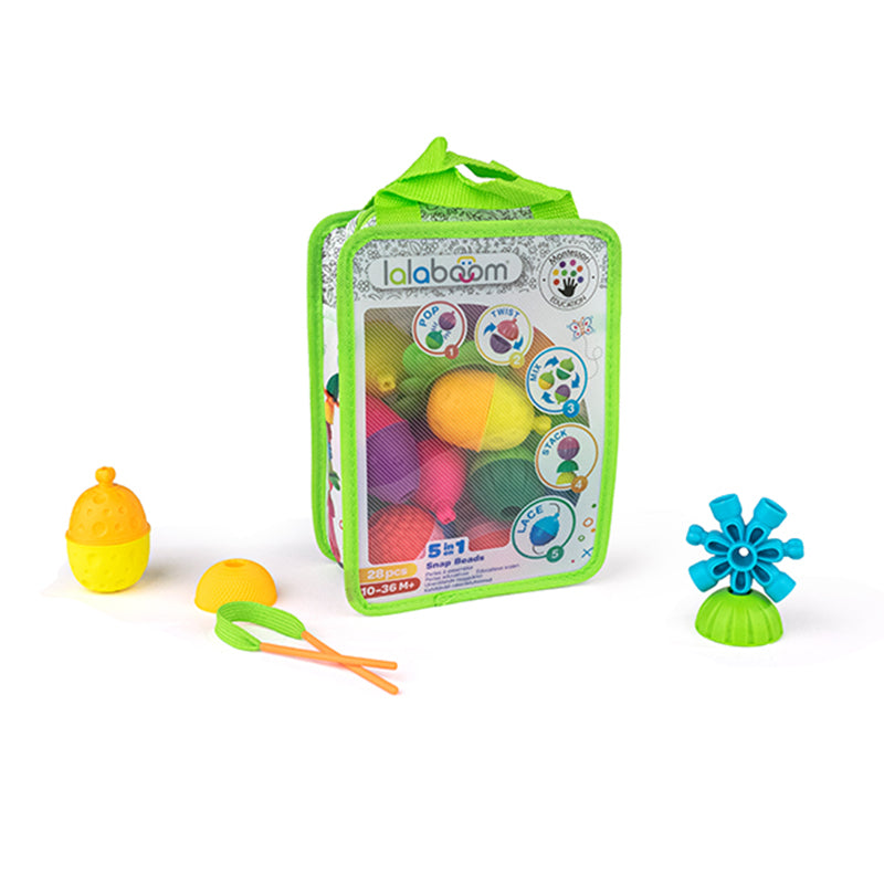 Lalaboom Bag Of Beads And Accessories 28Pk
