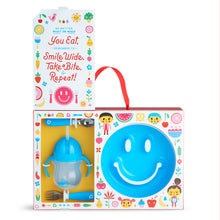Load image into Gallery viewer, Munchkin By Happy Toddler Dining Set Blue