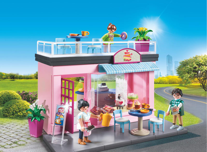 Playmobil City Life My Café
