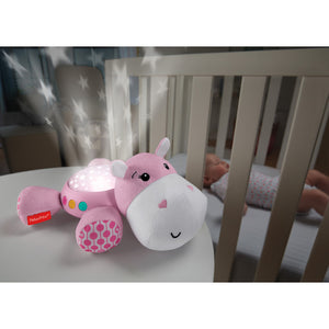 Fisher-Price Hippo Plush Projection Soother - Pink