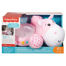 Load image into Gallery viewer, Fisher-Price Hippo Plush Projection Soother - Pink