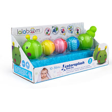 Load image into Gallery viewer, Lalaboom Bath Toy Caterpillar And Beads 8Pk
