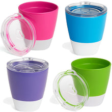 Load image into Gallery viewer, Munchkin Splash Cups 237ml All 4 Supplied