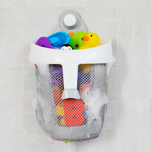 Munchkin Super Scoop Bath Toy Organizer - Gray