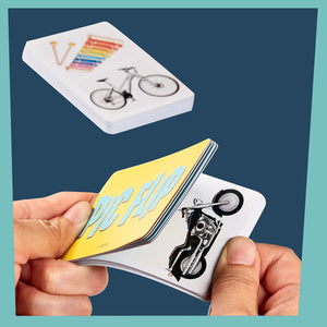 Pic Flip Card Game