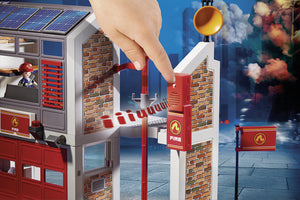 Playmobil Fire Station with Alarm