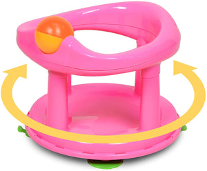 Safety 1st Swivel Baby Bath 360 Degree Support Chair Pink