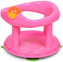 Load image into Gallery viewer, Safety 1st Swivel Baby Bath 360 Degree Support Chair Pink