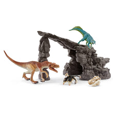 Load image into Gallery viewer, Schleich Dino Set With Cave