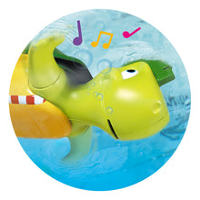 Load image into Gallery viewer, Tomy Bath Toy Swim and Sing Turtle