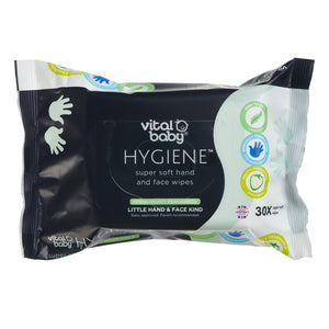 Vital Baby HYGIENE Super Soft Hand & Face Wipes Fruity Fragrance 5 PACKS