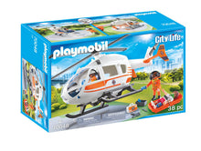 Load image into Gallery viewer, Playmobil City Life Rescue Helicopter