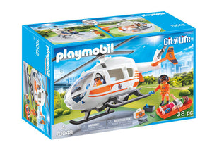 Playmobil City Life Rescue Helicopter