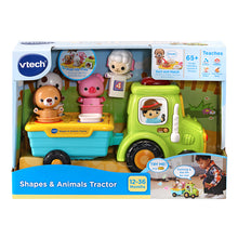 Load image into Gallery viewer, Vtech Shapes & Animal Tractor