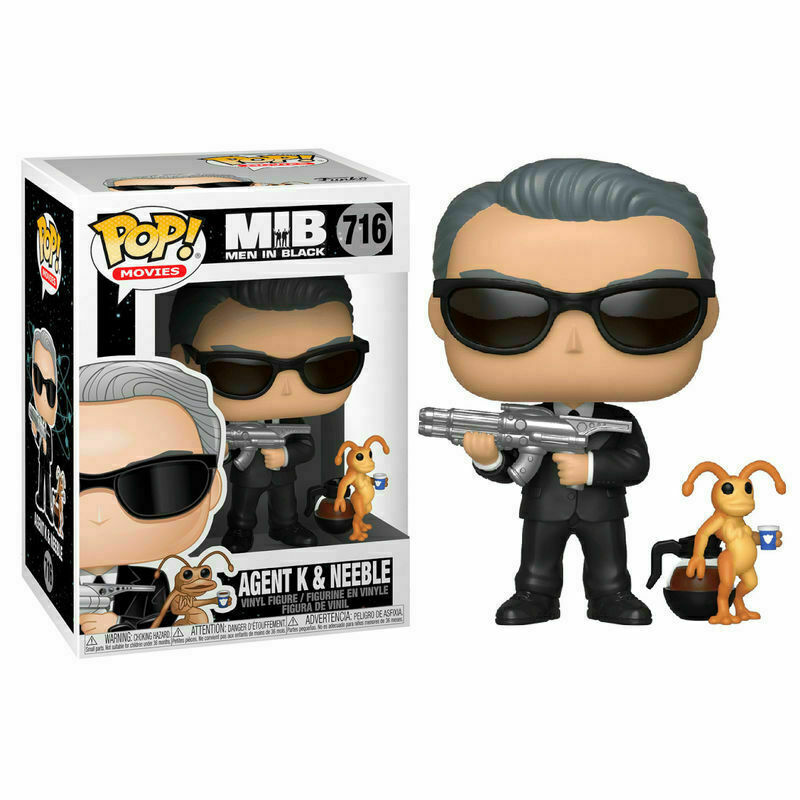 Funko Pop Movies Men In Black Agent K & Neeble 716 Vinyl Figure