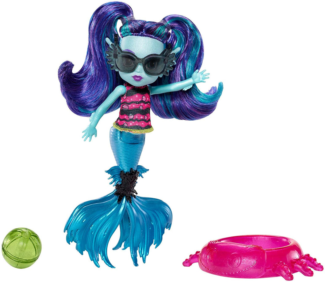Monster High Monster Family Ebbie Bluedoll