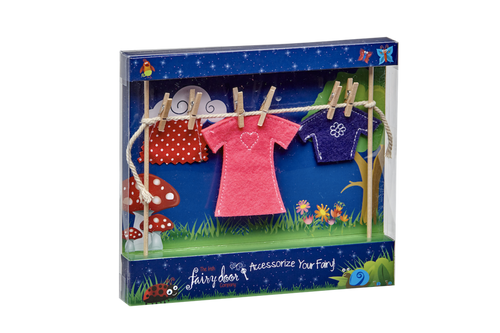 The Irish Fairy Door Female Washing Line