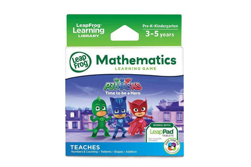 Leapfrog PJ Masks Mathmematics Learning Game