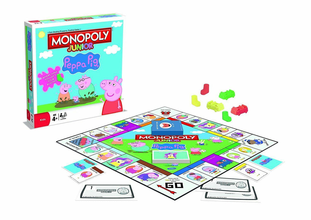 Monopoly Junior Peppa Pig Board Game