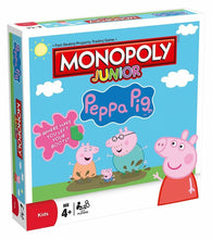 Load image into Gallery viewer, Monopoly Junior Peppa Pig Board Game