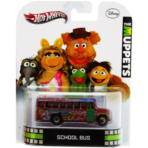 Hot Wheels The Muppets School Bus 1:64