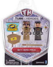 Load image into Gallery viewer, Tube Heroes 2.75 inch Action Figures  Sky Hero Pack